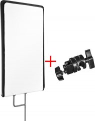 Walimex pro 4in1 Reflector Panel 60x75cm + clamp