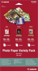"""Canon VP-101 Photo Paper Variety Pack 4x6"""" - 20 Sheets"""
