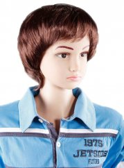 forDSLR Baby Boy Fake Synthetic Wig Brown