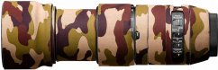easyCover Lens Oaks Protect for Sigma 100-400mm f/5-6.3 DG OS HSM Contemporary ( Brown camouflage)