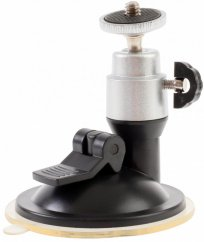 forDSLR suction cup holder with ball head, load capacity 1.5 kg