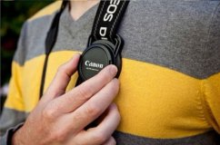 forDSLR Lens Cap Anti-Lost Buckle for Diameter 43, 52 and 55mm