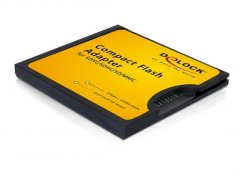 Delock Compact Flash Type II Adapter for SD Memory Cards