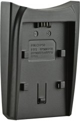 Jupio Charger Plate on Single or Dual Charger for Sony NP-FP50 / NP-FH50 / NP-FV50