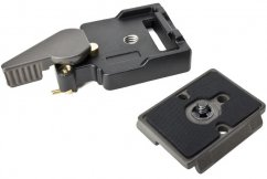 Manfrotto 323 System Quick Release Adapter RC2  with 200PL-14 Plate