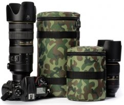 easyCover Lens Bag, Size 130*290, Camouflage