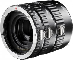 Walimex pro Auto Extension Ring Set for Canon EF