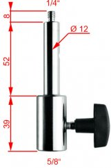 Manfrotto 016, 16mm Female Adapter