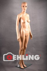 """Figurine """"Woman"""", white skin color, height 175 cm"""