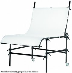 Manfrotto 220PSLB, Still Life Table Black without Cover