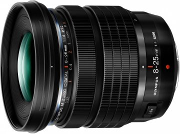 Olympus introduces the M.Zuiko 8-25mm F4 Pro Micro Four Thirds lens