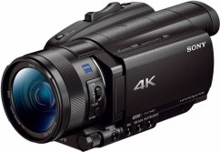 Sony FDR-AX700 4K Camcorder,  8.29MP, CMOS, IS, 12x zoom ZEISS
