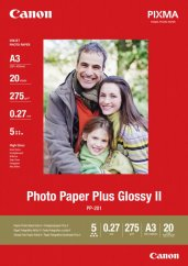Canon PP-201 Glossy II Photo Paper Plus A3+ - 20 Sheets