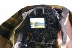B.I.G. Camera Camouflage and Rain Cover, Camouflage