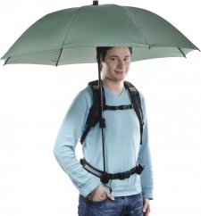 Walimex pro Swing Handsfree Umbrella with Carrier System (Olive Green)