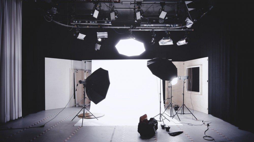 Fotografické studio se záblesky